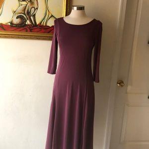 Light plum color dress
